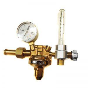 Druckminderer Argon/CO2 mit Flowmeter Hercules