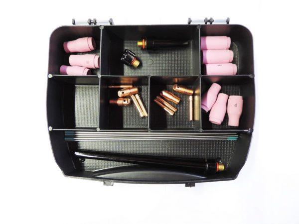 Ausrüstungsset WIG SR9,20,25_mit Düsen 4,5,6 für Dm1,6 und Dm2,4