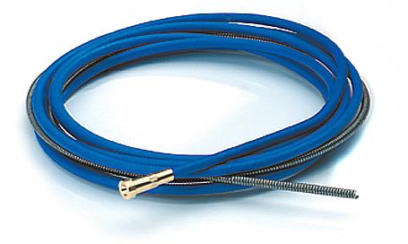 Drahtführungsseele Innenspirale Stahl Blau ZBMGM500