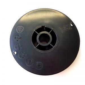 Mini Spule Edelstahl 308L 4316 Dm0,8 auf Dornspule D100 mit Aufnahme Dm16mm_2