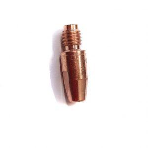 Kontaktdüse bzw. Kontaktrohr für Standard-Schweißbrenner aus CuCrZr verschleißfest in Dm0,8, Dm1,0, Dm1,2, Dm1,4, Dm1,6