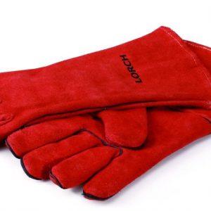 Schweißerhandschuh LORCH rotem robustem Leder gefüttert