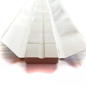 Keramische Schweißbadsicherung auf selbstklebender Alufolie 6mm Wurzelschweißung