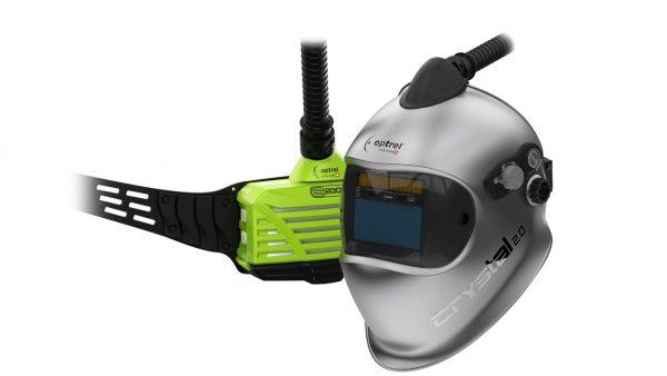Optrel Crystal 2.0 Frischlufthelm Autopilot mit Atemschutzgebläse e3000X