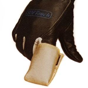 TIG WIG Finger Fingerschutz Schweißen Schlauch, Kevlargarn für Positionen