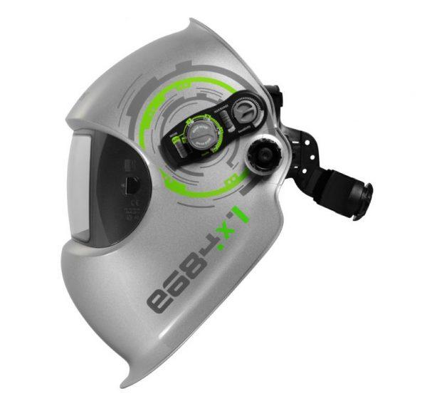 Schweißschirm Automatisch regelbar otimale Einstellung schwere MAG Arbeiten bis 13 DIN Dämmerungsfunktion Autogen PLasma schleifmodu