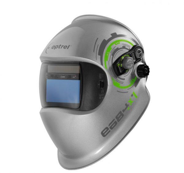 Schweißschirm Automatisch regelbar otimale Einstellung schwere MAG Arbeiten bis 13 DIN Dämmerungsfunktion Autogen PLasma schleifmodus