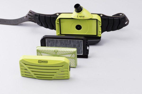 Optrel Atemschutz Frischluftgebläse Explosionszeichnung
