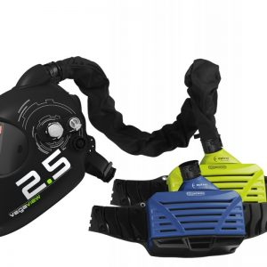 Atemschutz Frischluftanschluss Schweißschirm Automatik mit Gebläse hell