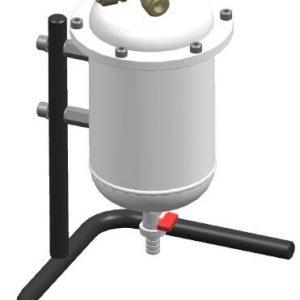 4090.100 Luftaufbereitung für Druckluft Atemschutzsystem Schutzausrüstung Schweißhelm, Frischlufthelm