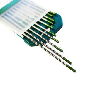 Wolframelektroden WIG Nadeln Schweißen grün für Alu langlebig qualtät